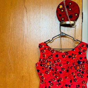Handbags - Kente African matching blouse and purse